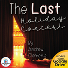 The Last Holiday Concert Teaching Novel Unit ~ Common Core