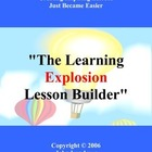 The Lesson Builder learning Explosion
