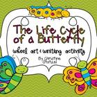 The Life Cycle of a Butterfly {Wheel Art & Write}
