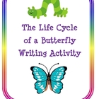 The Life Cycle of a Butterfly Writing Activity