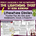 The Lightning Thief Literature Circle Activities Common Co