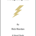 The Lightning Thief -  (Reed Novel Studies)