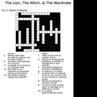 The Lion, The Witch, & The Wardrobe Word Study