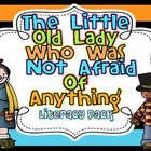 The Little Old Lady Who Wasn't Afraid Of Anything {Literacy Pack}
