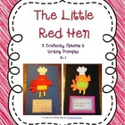 The Little Red Hen Craftivity and Writing
