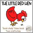 The Little Red Hen {freebie}