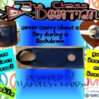 (Door handle version) The Class Doorman Helps with Lockdow