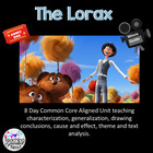 The Lorax- An Eight Day Unit