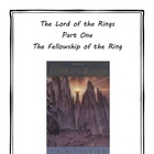The Lord of the Rings Part 1, 2, & 3 Literature Units