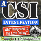The Lost Colony Student Investigation - Can you gather the