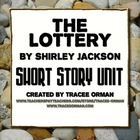 &quot;The Lottery&quot; by Shirley Jackson Unit with Hunger Games Co