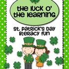 The Luck O' the Learning  {St. Patrick's Day Literacy Fun}