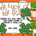 The Luck of the Irish: Language Arts, Math, Science, & Soc