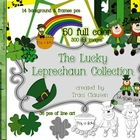 The Lucky Leprechaun Clipart Collection for St. Patrick's Day