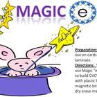 "The Magic ""E"" - a cvcv word building activity using the silent e"