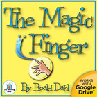The Magic Finger Teaching Novel Unit CD~ Common Core Aligned!