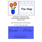 The Map: A Reader&#039;s Theater Play that Teaches Word Familie