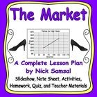 The Market - Activities and Lesson Plan