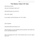 The Minister&#039;s Black Veil Quiz