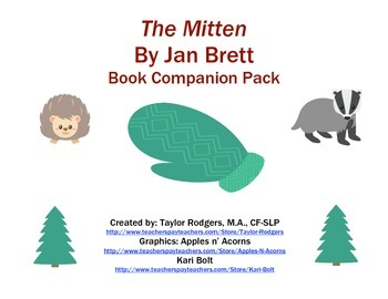 The Mitten- Book Companion