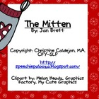 The Mitten: Language activities