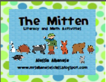 The Mitten Literacy and Math Fun!