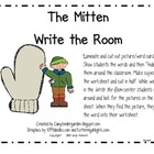 The Mitten Write the Room Center