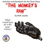 The Monkey&#039;s Paw - Assorted Handouts and Activities