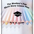 The Monkey&#039;s Paw by W. W. Jacobs Lesson, Worksheets, Key, 
