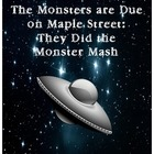 """The Monsters are Due on Maple St.:"" They Did the Monster"