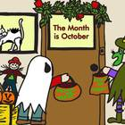 The Month is October Play with Music - Halloween Play with Script