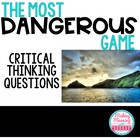 &quot;The Most Dangerous Game&quot; Critical Thinking Guide
