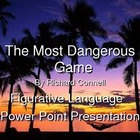 The Most Dangerous Game Figurative Language Workshop and P