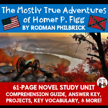 The Mostly True Adventures of Homer P. Figg Reading Activi