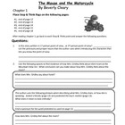 The Mouse and the Motorcycle Comprehension Questions