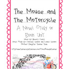 The Mouse and the Motorcycle- Novel Study, Ch. Qs, Activit