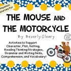 The Mouse and the Motorcycle by Beverly Cleary: Characters