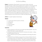 The Mysteries of Harris Burdick Halloween Writing Activity