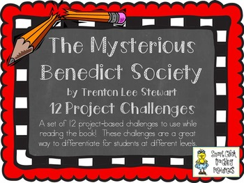 """The Mysterious Benedict Society"", by T. Stewart, Project"