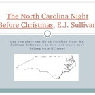 The NC Night Before Christmas, by EJ Sullivan