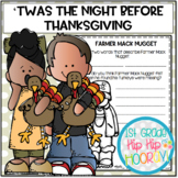 The Night Before Thanksgiving...Literacy Activities