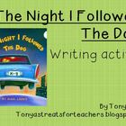 The Night I followed the Dog-writing lesson plan