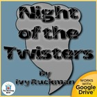 The Night of the Twisters Novel Unit CD ~ Common Core Standards