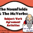 The Nounfields and the McVerbs - subject verb agreement ac