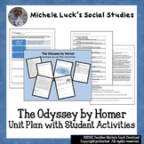 The Odyssey by Homer Unit Plan with Student Activities NEW! Fun!