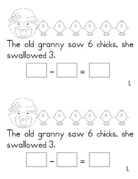 The Old Lady Who Swallowed a Chick Activities