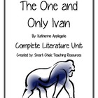 The One and Only Ivan, by K. Applegate, Complete Literature UNIT!