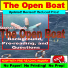 The Open Boat Short Story PowerPoint