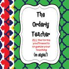 The Orderly Teacher Color