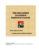 The Organized Teacher&#039;s Resource Packet (Great for Back-to